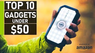 Top 10 Cool Tech & Gadget Under $50 on Amazon