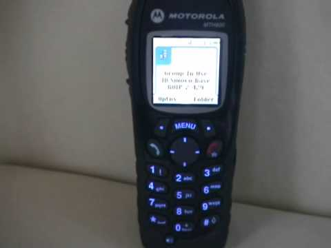 LAPD Police Audio on Motorola MTH800 Tetra Radio