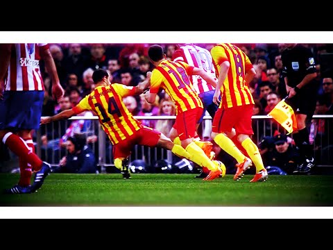 Javier Mascherano - Tackling Machine | 2013/2014