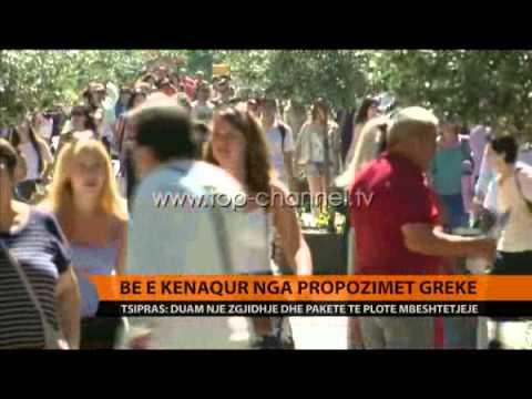 Propozimet e reja greke ringjallin shpresë - Top Channel Albania - News - Lajme