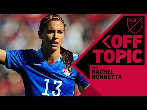 Fun time with Alex Morgan, Sydney Leroux and USWNT stars | Off Topic with Rachel Bonnetta