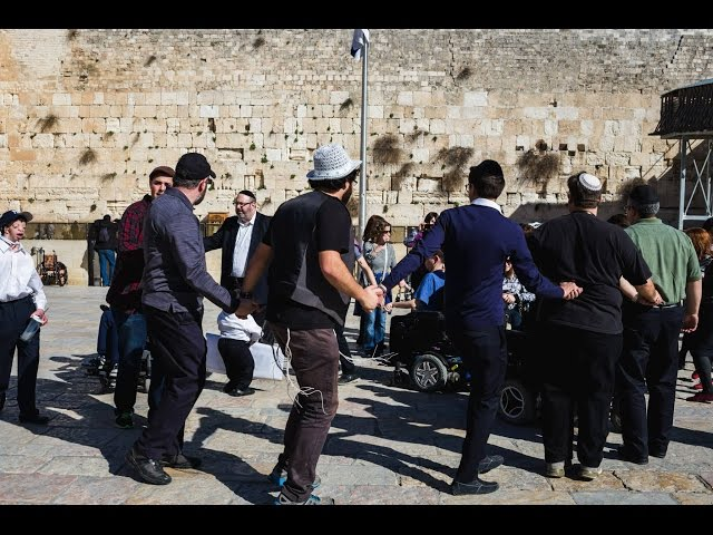 Special Needs Kids Inspired by Visit to the Holy Land
