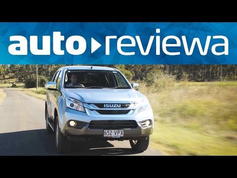 2015. 2016 Isuzu MU-X Review -Australia