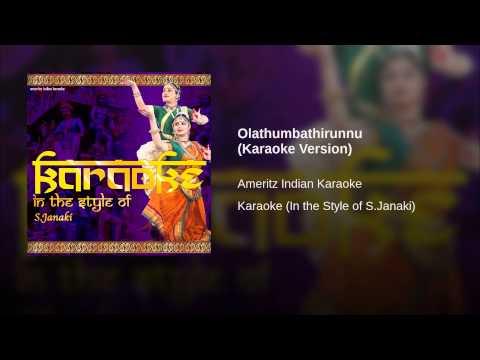 Olathumbathirunnu (karaoke Version) video