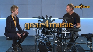 Roland TD-50KV V-Drums Demo with Craig Blundell