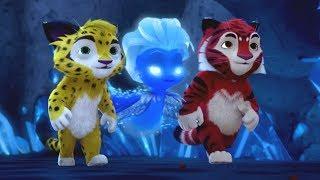 Лео и Тиг - Маленькая вьюжка - Серия 15 - мультфильм для детей о жителях тайги