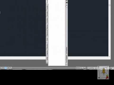 Autocad - 9. [Interfaz] Cambiar el espacio de trabajo, 2D, 3D, Clásico