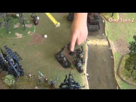 Orks VS Necrons Warhammer 40k Battle Report - Part 2/6 - Beat Matt Batrep