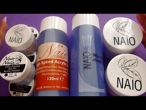 NAIO ACRYLIC HAUL DEMO AND MY OPINION | ABSOLUTE NAILS