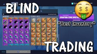 Fortnite Save The World Blind Trading With Best Inventory! *Must Watch* | Insane Items