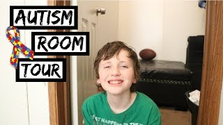 BOYS BEDROOM TOUR || Autism Sensory Room DIY For Sensory Integration