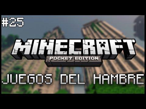 Minecraft PE LOS JUEGOS DEL HAMBRE #25
