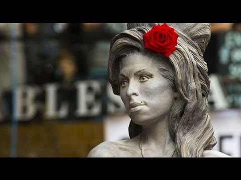 Life-size Amy Winehouse statue unveiled in Camden