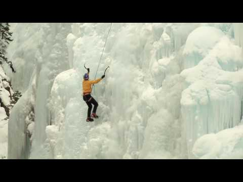 Will Gadd training Ouray Ice Park - Funded in part through grants from Great Outdoors Colorado made possible by the Colorado Lottery.