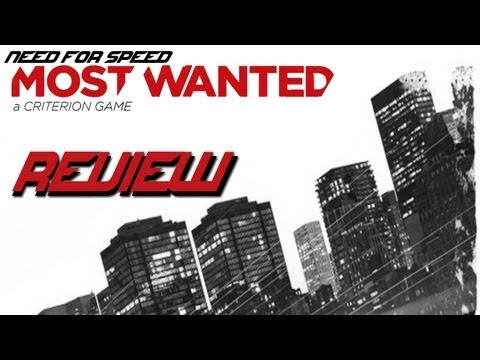 Need for Speed Most Wanted - My Review! (NFS001 2012)