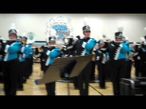 The Pueblo West High School Drumline and Pep-Band