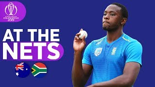 AUS vs SA - At The Nets | ICC Cricket World Cup 2019