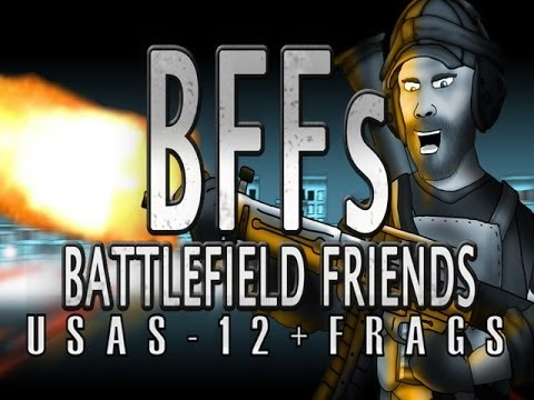 Battlefield Friends Ep 3 USAS 12+Frags