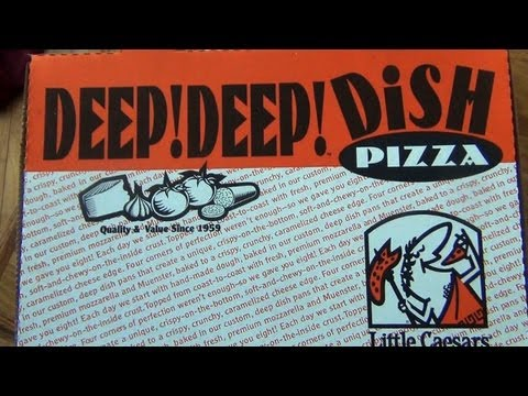 Little Caesars's Deep!Deep! Dish Pizza