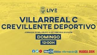 Villarreal C vs Crevillente Deportivo