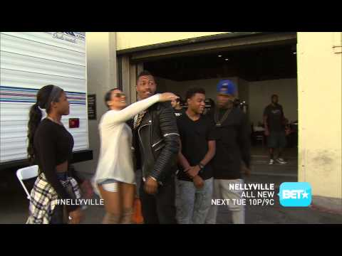 Nick Cannon stops by NellyVille TUES 10P 9c