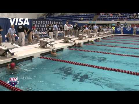 Women&#039;s 100m Butterfly A Final - 2012 Indianapolis Grand Prix