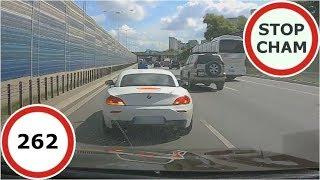 Stop Cham #262 - Niebezpieczne i chamskie sytuacje na drogach