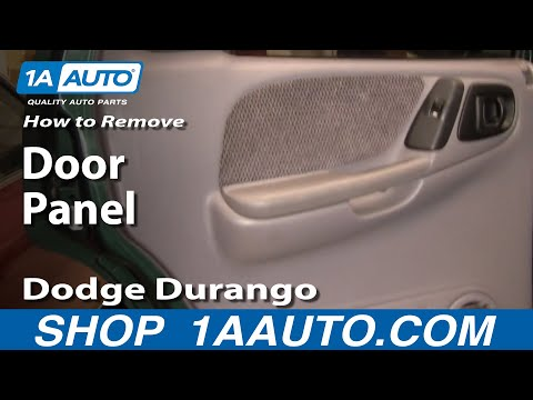 How To Install Replace REAR Door Panel Dodge Durango 98-03 1AAuto.com