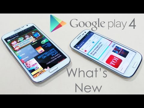 Google Play Store 4 Review (/w APK to Install) - What's New?