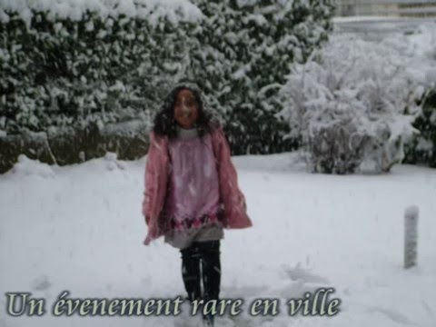 la neige  marseille