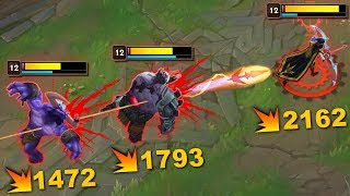 "THE ULTIMATE ""INSTANT DELETE"" MONTAGE - League of Legends"