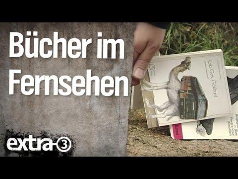 Bücher Im Fernsehen | Extra 3 | NDR
