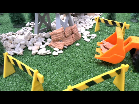 Play Doh Brick Mill Thomas & Friends Episode Toy Story Play-Doh Diggin Rigs James Track Collapse