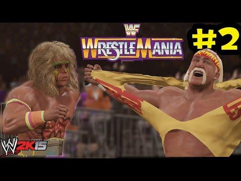 WWE 2K15 - Path of the Warrior -The Ultimate Warrior Vs Hulk Hogan en Wrestlemania 6