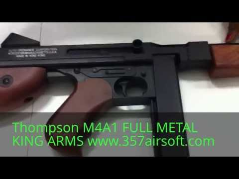 Thompson M1A1 Full métal King Arms www.357airsoft.com