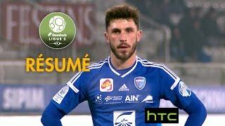 AJ Auxerre - FBBP 01 (0-2)  - Résumé - (AJA - BBP) / 2016-17