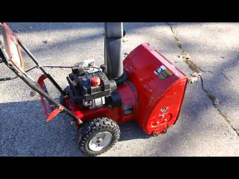 MTD SNOWBLOWER REVIEW.