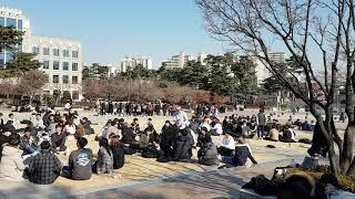 Korea University induction day Seoul 3 / 고려 대학교