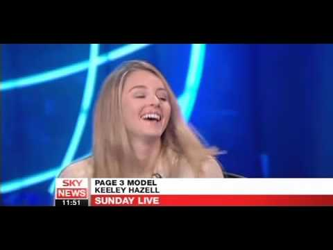 Keeley Hazell Talks about saving the planet