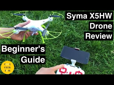Syma X5HW RC Quadcopter Drone Review Beginner's Guide