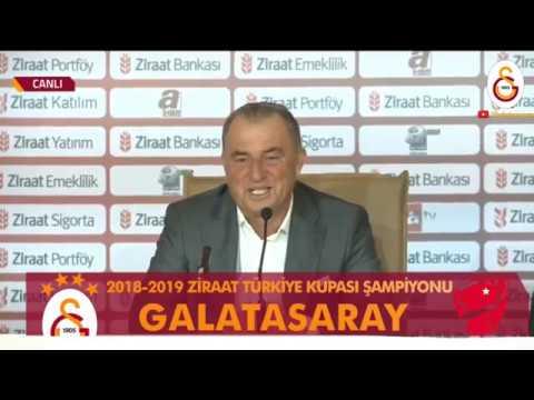 Teknik Direktörümüz Fatih Terim'den Maç Sonunda Açıklamalar | #AKHvGS