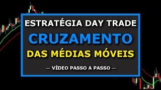 🔴 Estratégia Day Trade: Operando O Cruzamento Das Médias Móveis