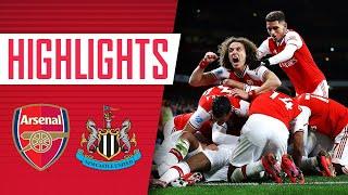 HIGHLIGHTS  Arsenal 4-0 Newcastle  Premier League  Feb 16, 2020