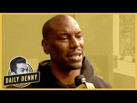 Tyrese Gibson Outside Court After Emotional Plea to Ex-Wife On Social Media | Daily Denny