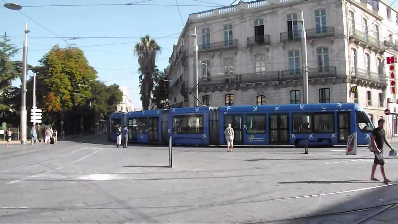 Montpellier Tram - Sta...