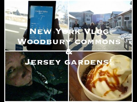 New York Vlog Day 4 & 5 - Woodbury Commons & Jersey Gardens! Lovely Girlie Bits