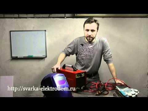 Видео как научиться варить электросваркой