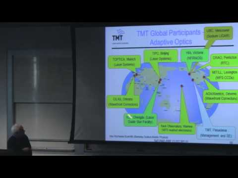 Seminar by Gary Sanders: the Thirty Meter Telescope