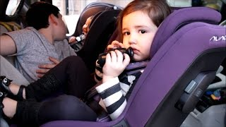Turning Our 3 Year Old Rear Facing   Nuna Rava Review & Install