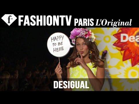 Desigual: Designer's Inspiration Ft Adriana Lima | Spring 2015 New York Fashion Week | Fashiontv video